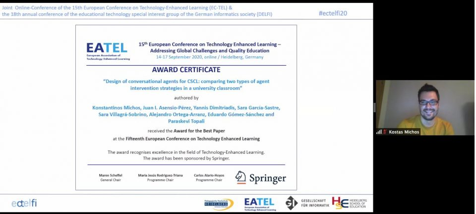 colMOOC Best Research Paper Award